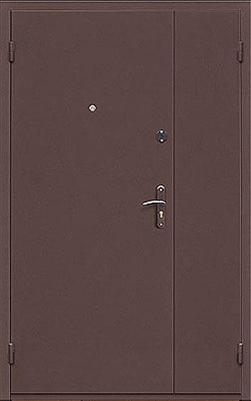 двери металлические входные двойнные